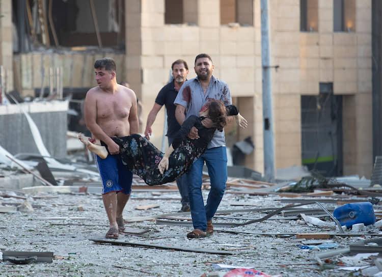 Премьер-министр Ливана объявил 5 августа днем общенационального траура после взрыва в Бейруте