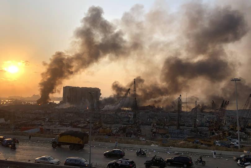 Губернатор Бейрута оценил ущерб от взрыва в $3-5 млрд