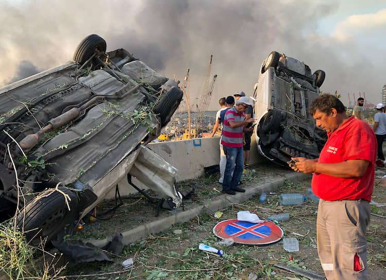 Министр здравоохранения Ливана назвал ситуацию в Бейруте «катастрофической в полном смысле этого слова»