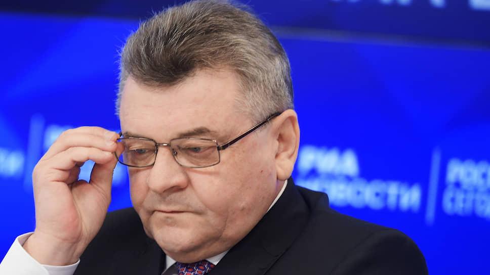 Начальник следственного управления ФСБ России Михаил Шишов