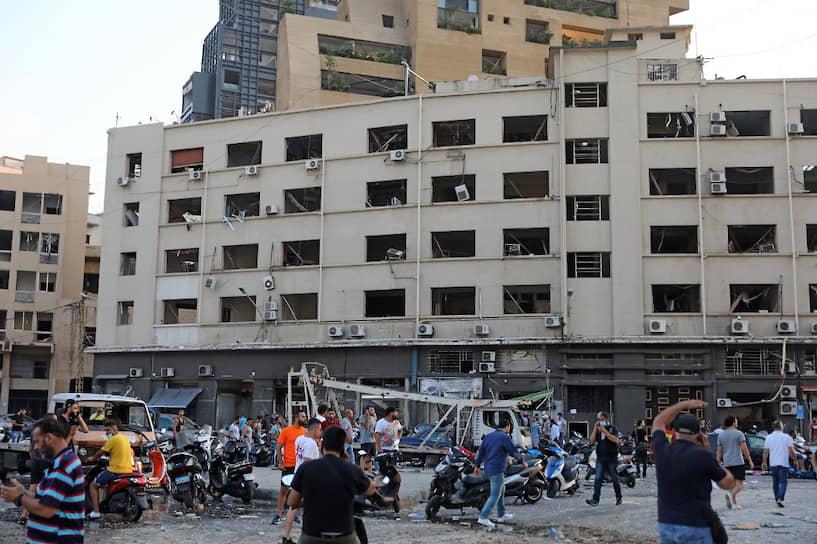 Звук взрыва услышали в столице Кипра Никосии, находящейся в 250 км от Бейрута