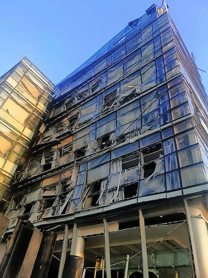 Одной из версией произошедшего стала ракетная атака на Бейрут со стороны Израиля. Израильская сторона официально отрицает любую причастность к взрыву