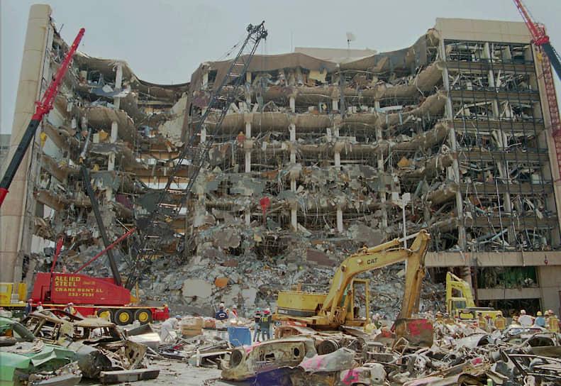 19 апреля 1995 года в Оклахома-Сити (штат Оклахома, США) в результате взрыва заминированного автомобиля было разрушено административное здание имени Альфреда Марра. Для изготовления бомбы было использовано 800 кг аммиачной селитры