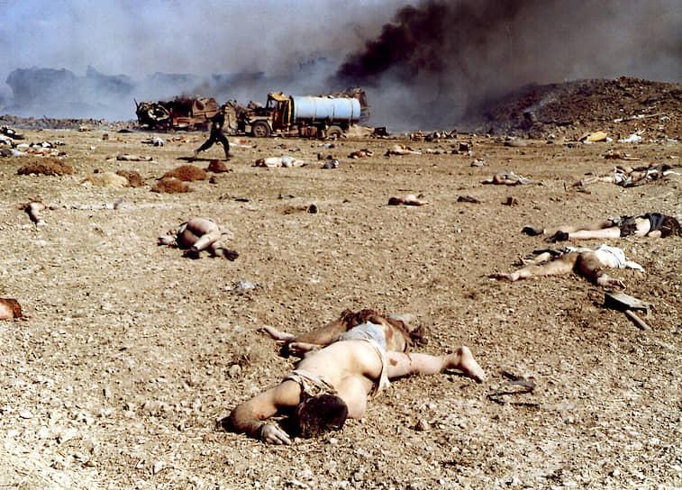 18 февраля 2004 года в селе Хайям под Нишапуром (Иран) взорвался железнодорожный состав. 17 его вагонов были загружены серой, 6 — бензином, 7 — нитратными удобрениями, и 10 — хлопком. Погибли 295 человек, в том числе руководители двух провинций Ирана. 460 пострадали