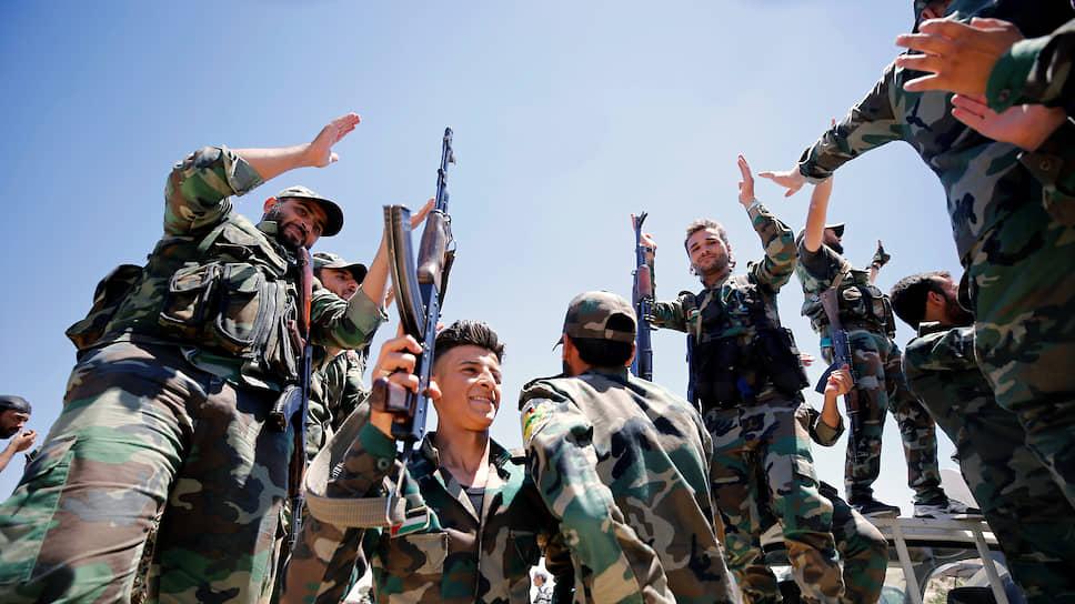 Сирийская арабская армия (1-2 фото) как я поняла это они