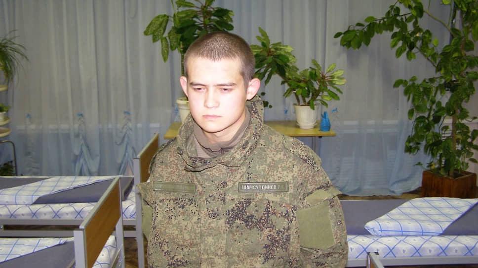 Обвиняемый в массовом расстреле Рамиль Шамсутдинов