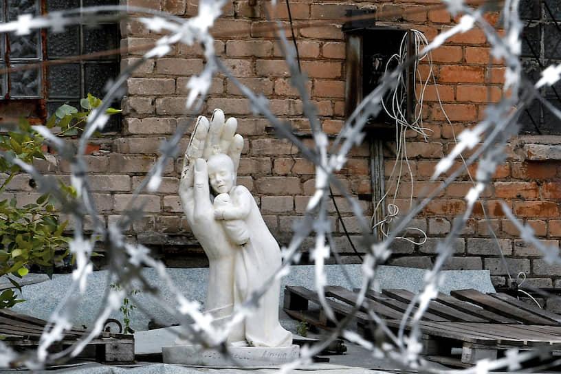 Москва. Скульптура на улице города
