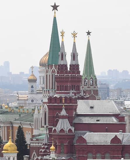 Москва. Вид на Государственный исторический музей