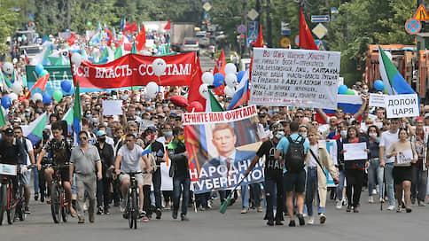 «Был бы говенный губернатор, за него бы не вышли» / Почему Хабаровский край бунтует уже целый месяц