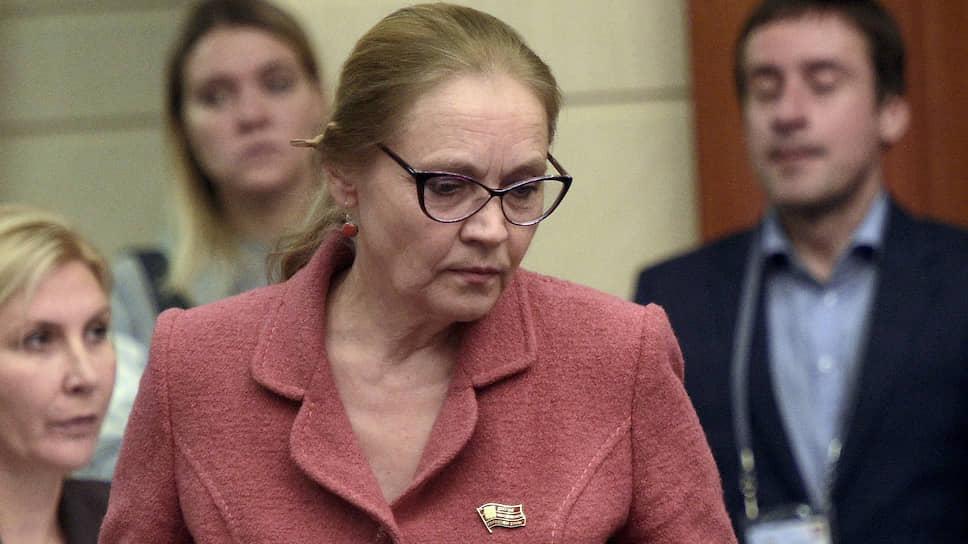 Депутат Мосгордумы Елена Шувалова