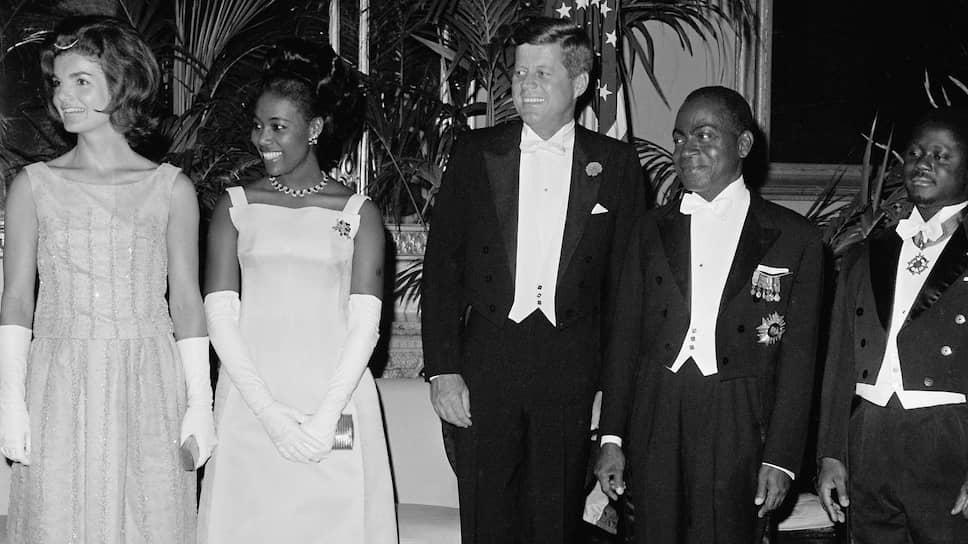 Во время визита президента Берега Слоновой Кости Уфуэ-Буаньи в США в 1962 году американская пресса дала его супруге Мари-Терезе прозвище «Черная Жаклин»