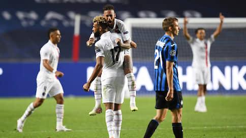 ПСЖ уложился в три минуты  / Французский клуб вырвал победу в концовке четвертьфинала Лиги чемпионов