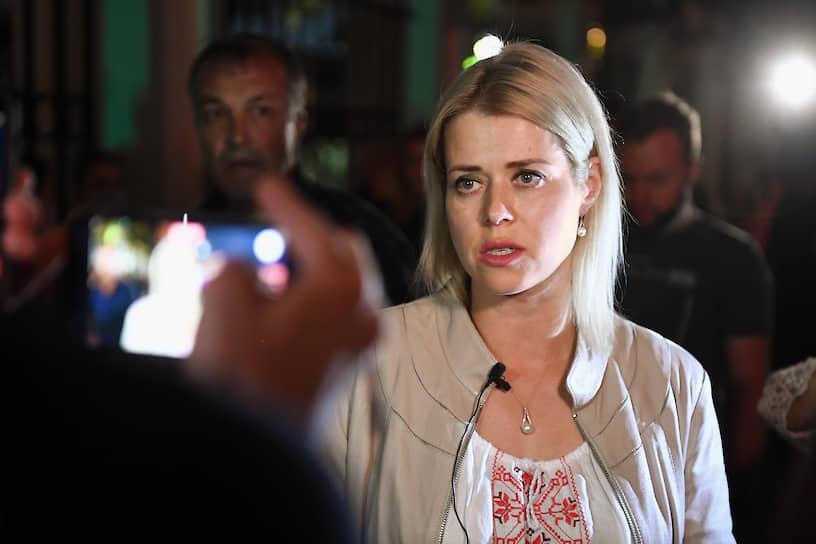 <b>Вероника Цепкало, супруга Валерия Цепкало</b><br> Одна из лидеров объединенного штаба оппозиции. Покинула Белоруссию накануне выборов из-за опасений уголовного преследования. Живет в Латвии, где создала фонд поддержки белорусских женщин