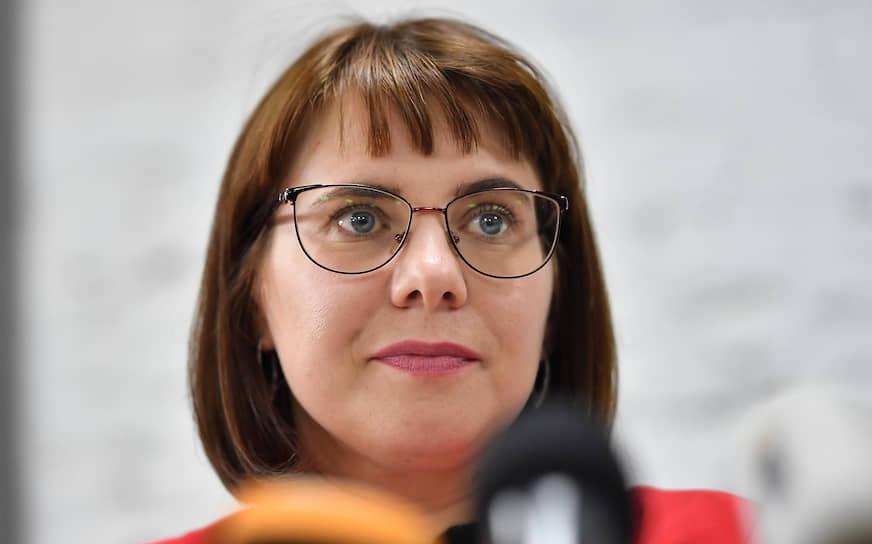 <b>Ольга Ковалькова, юрист, член президиума координационного совета оппозиции</b><br> Доверенное лицо Светланы Тихановской. В начале сентября после отбытия наказания 10 суток покинула Белоруссию. Находится в Польше