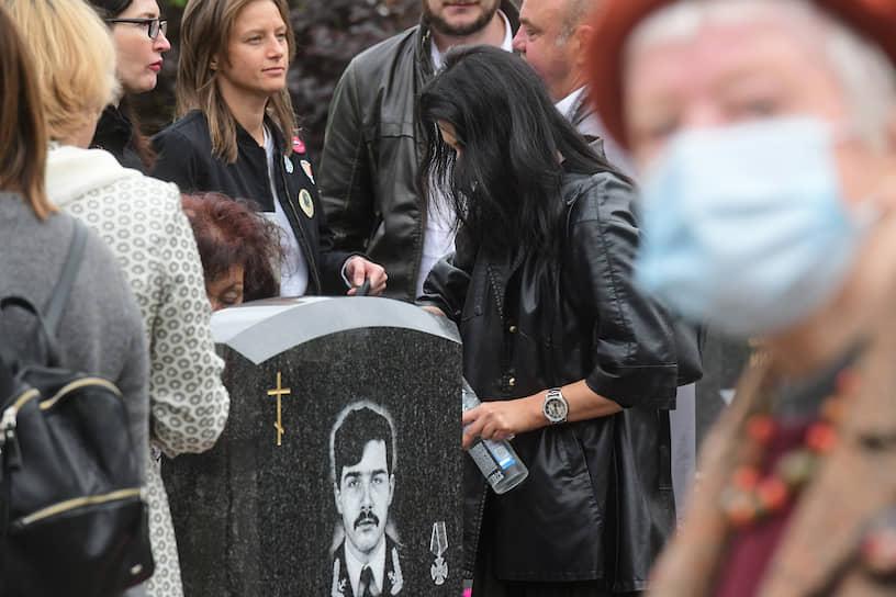 Санкт-Петербург. Церемония памяти по погибшим морякам атомной подводной лодки «Курск»