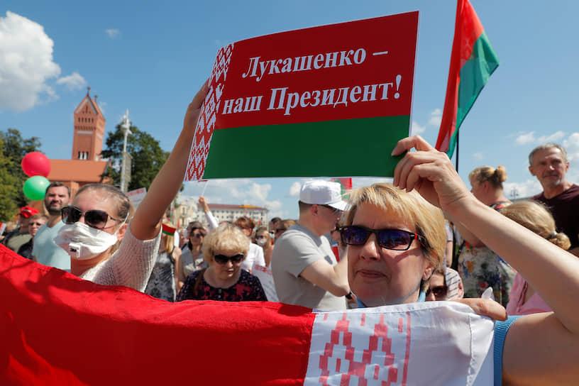Господин Лукашенко заявил собравшимся, что повторных выборов не будет: «Выборы состоялись, не может быть больше 80% фальсификаций»