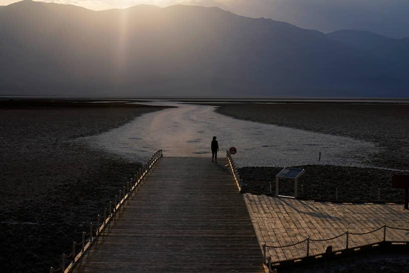 Калифорния, США. Национальный парк Долина Смерти