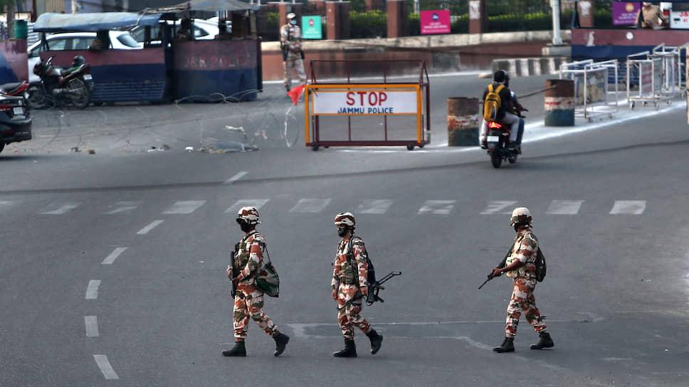 Индийский патруль в Джамму