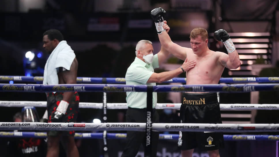 Александр Поветкин добил до чемпионского боя