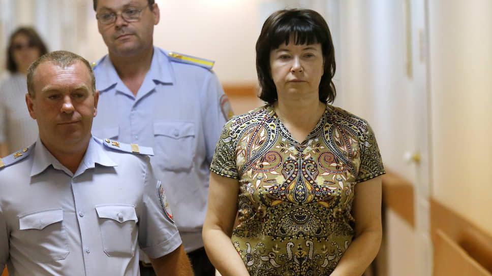 Бывшая супруга члена банды Цапков Вячеслава Цеповяза Наталья Стришняя