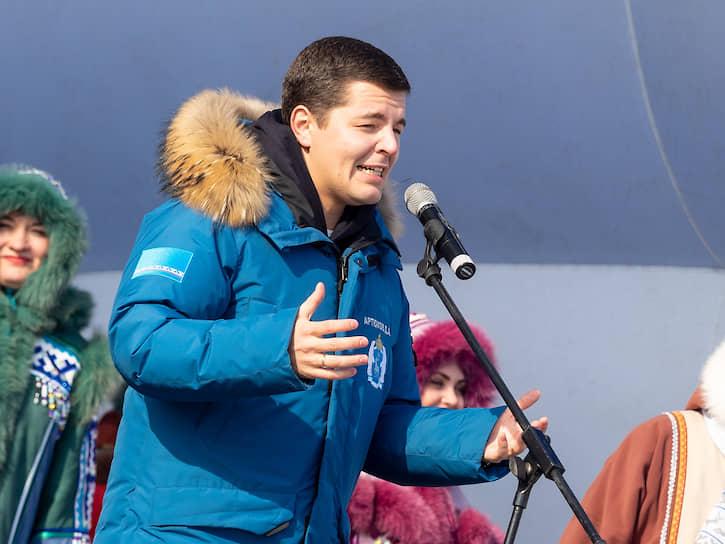 Губернатор Ямало-Ненецкого автономного округа (ЯНАО) Дмитрий Артюхов