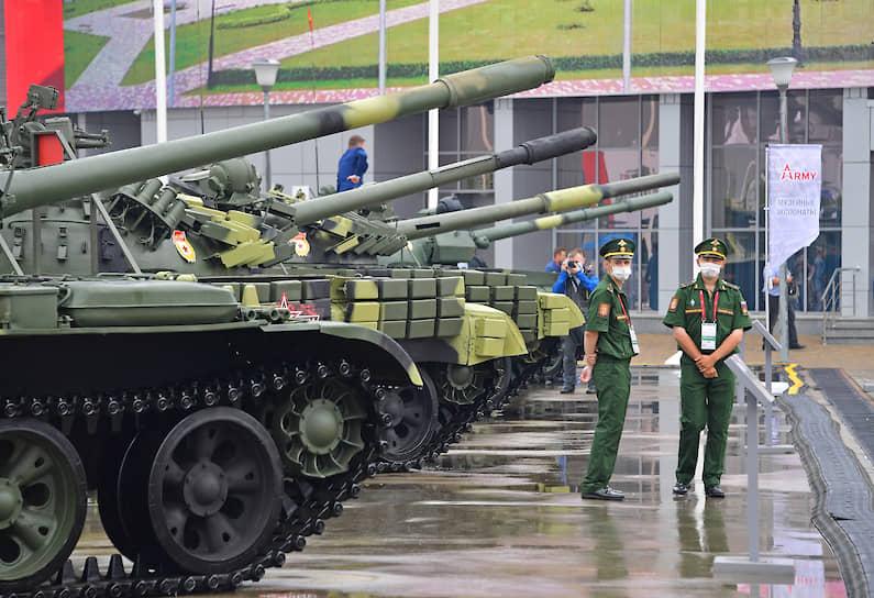 Военная техника в конгрессно-выставочном центре «Патриот»