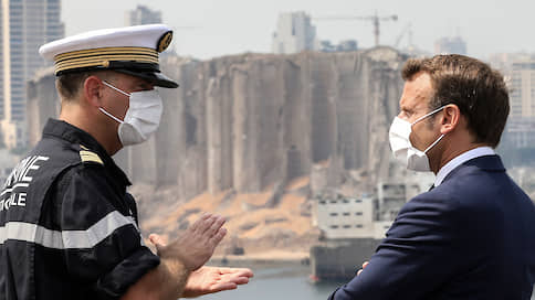 Великий Ливан переполнен Великим гневом  / Президент Франции посетил охваченную протестами страну