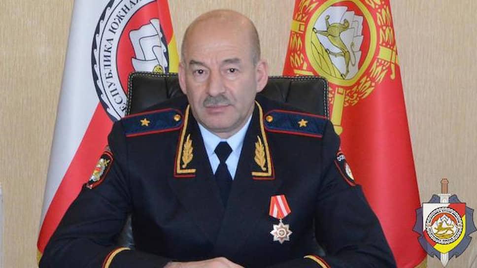 Глава МВД Южной Осетии Игорь Наниев