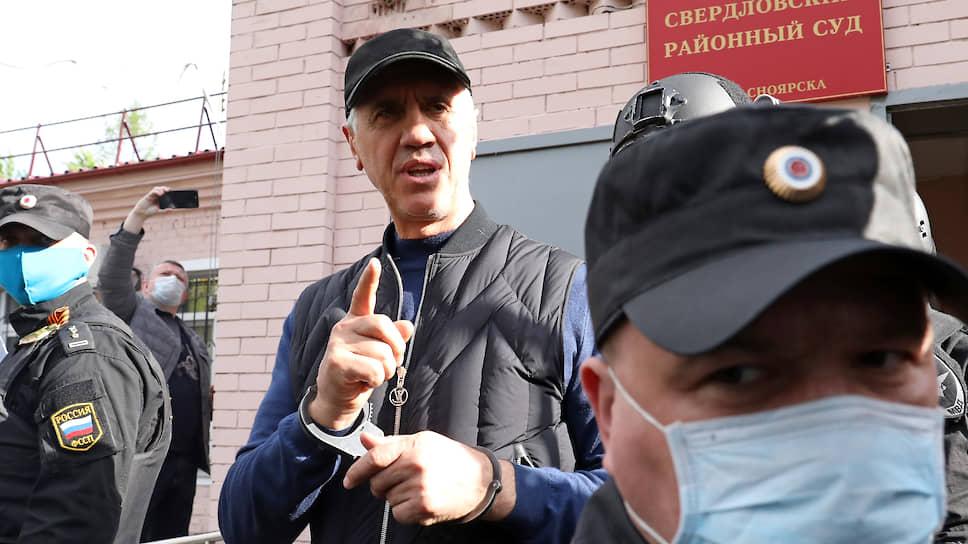 Красноярский бизнесмен Анатолий Быков