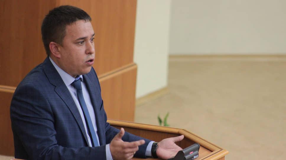 Депутат законодательного собрания Ульяновской области от КПРФ Айрат Гибатдинов