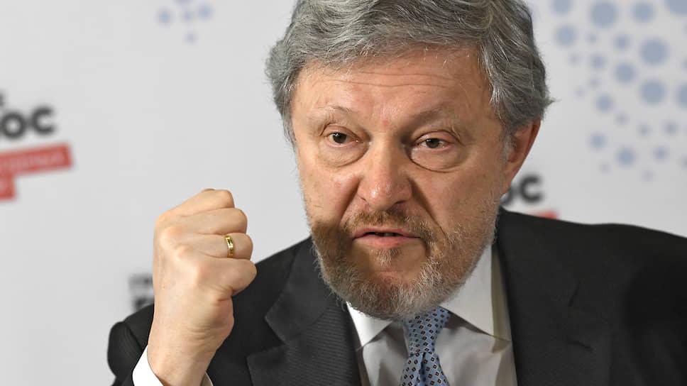 Создатель партии «Яблоко» Григорий Явлинский