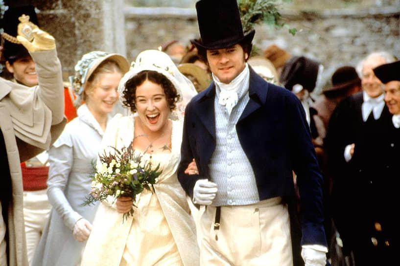Еще большую известность Колину Ферту принесла роль мистера Дарси в телеадаптации романа Джейн Остин «Гордость и предубеждение» (1995)