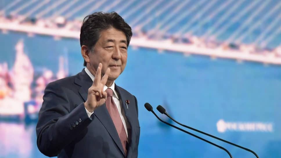 Уходящий премьер Японии Синдзо Абэ
