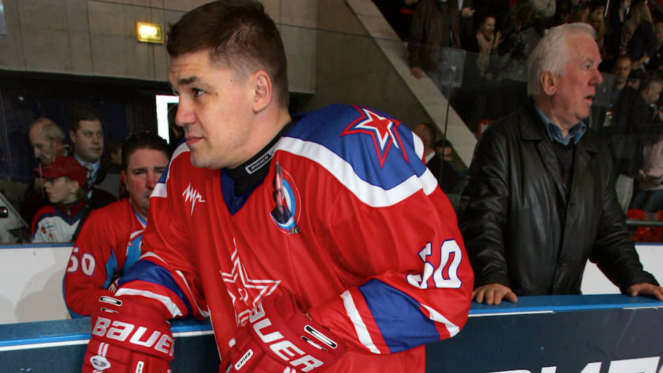 Хоккеист Андрей Коваленко