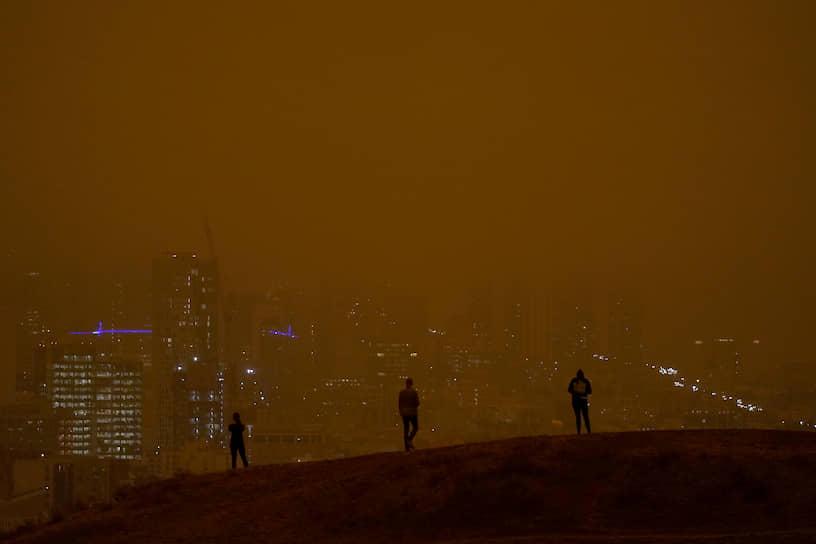 Сан-Франциско, окутанный дымом