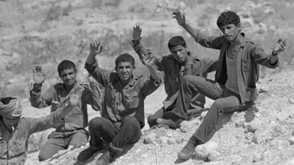 При изгнании фидаинов из Иордании часть бойцов предпочла сдаться в плен в Израиле