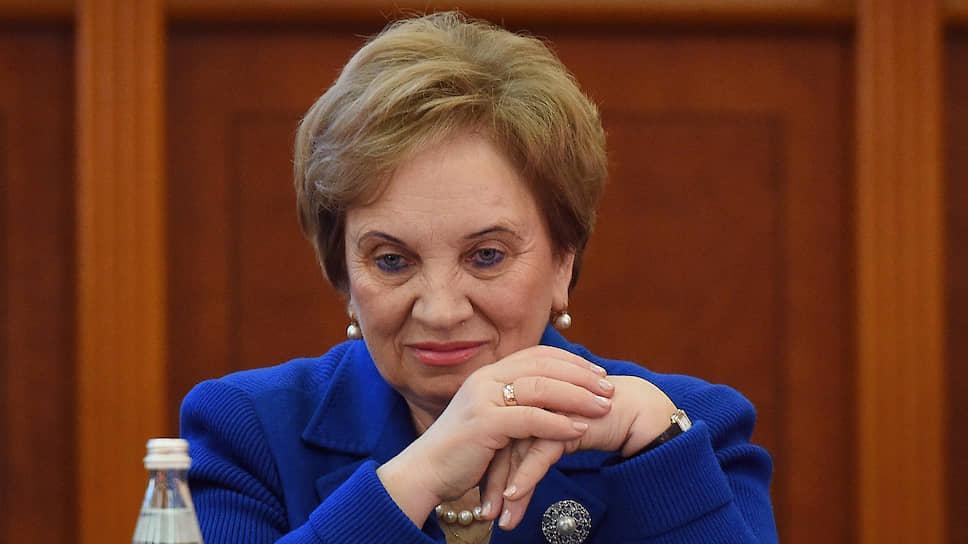 Председатель Московского городского суда Ольга Егорова