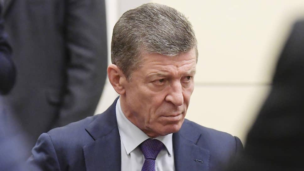 Замруководителя администрации президента Дмитрий Козак