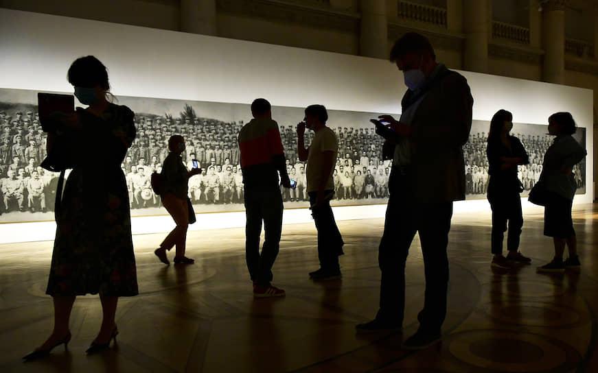 Санкт-Петербург. Пресс-показ выставки «Чжан Хуань. В пепле истории» в Эрмитаже