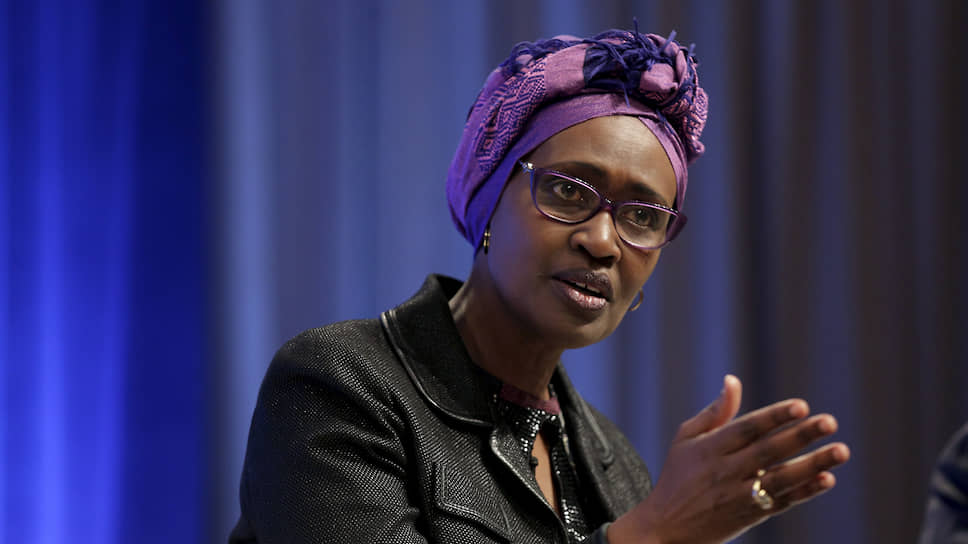 Глава Объединенной программы ООН по ВИЧ/СПИД (UNAIDS) Винни Бьянима
