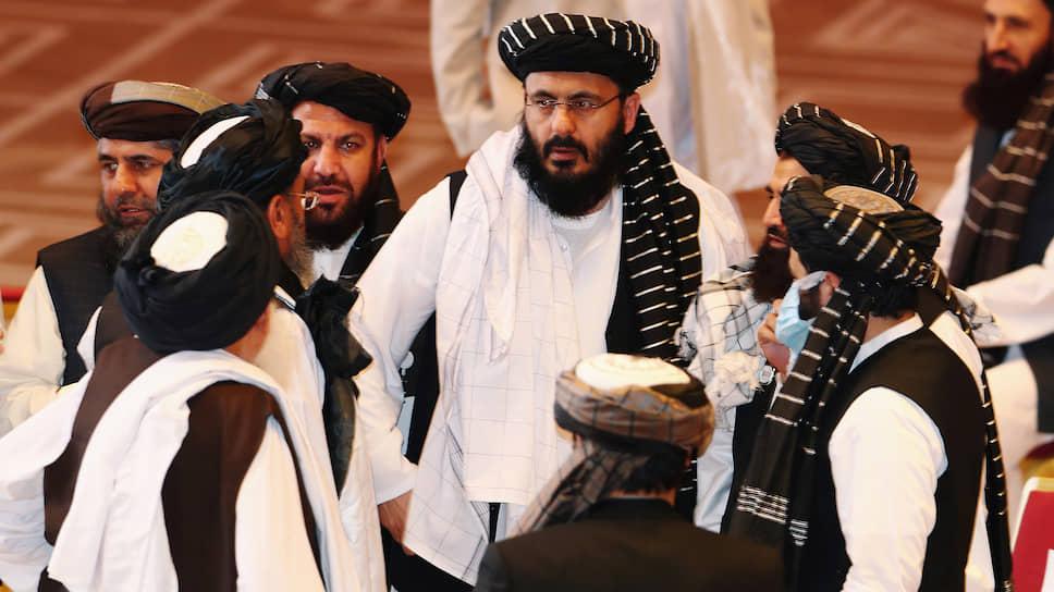 Делигаты от «Талибана» (запрещено в РФ)