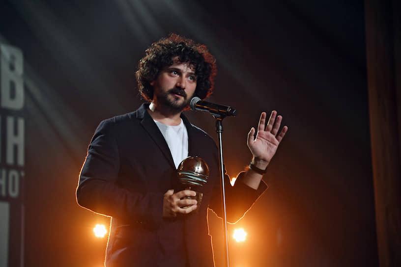 Режиссер фильма «Китобой» Филипп Юрьев, получивший приз в номинации «За лучшую режиссуру»