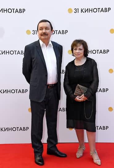 Режиссер Вадим Абдрашитов с супругой художницей Нателой Тоидзе