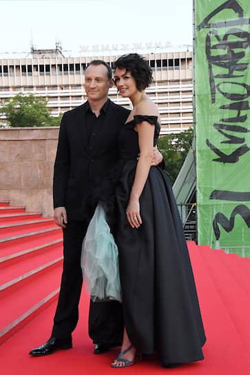 Актер Анатолий Белый с супругой Инессой Москвичевой