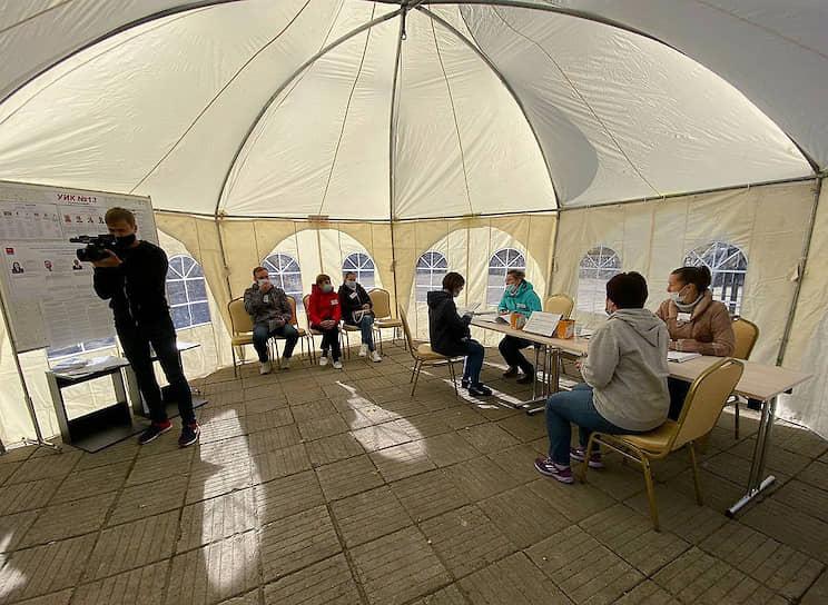 Жители Магаданской области выбирали депутатов областной думы