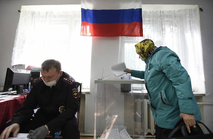 В Новосибирской области прошли выборы депутатов законодательного собрания