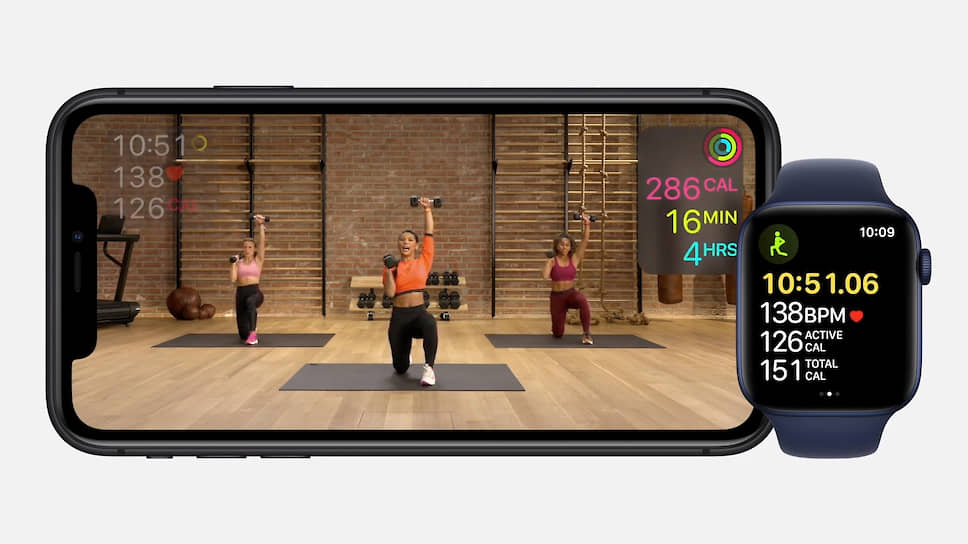 Сервис Fitness+ для Apple Watch и других устройств Apple компания запустит в конце 2020 года. Он сможет подбирать подходящие тренировки и записывать их