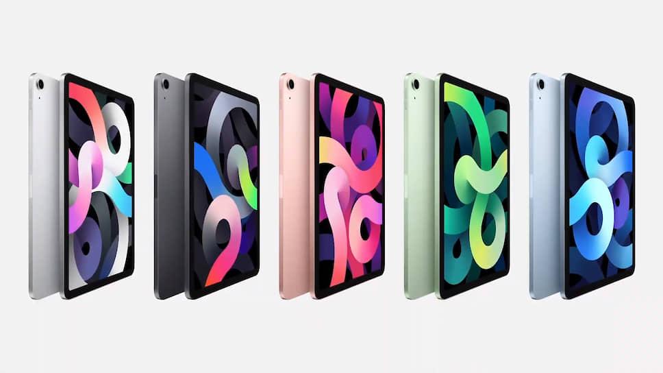 Новый iPad Air получил обновленный дизайн с симметричными рамками, похожий на дизайн iPad Pro. Он будет доступен в цветах «розовое золото», зеленый, «голубое небо», «серый космос» и серебристый