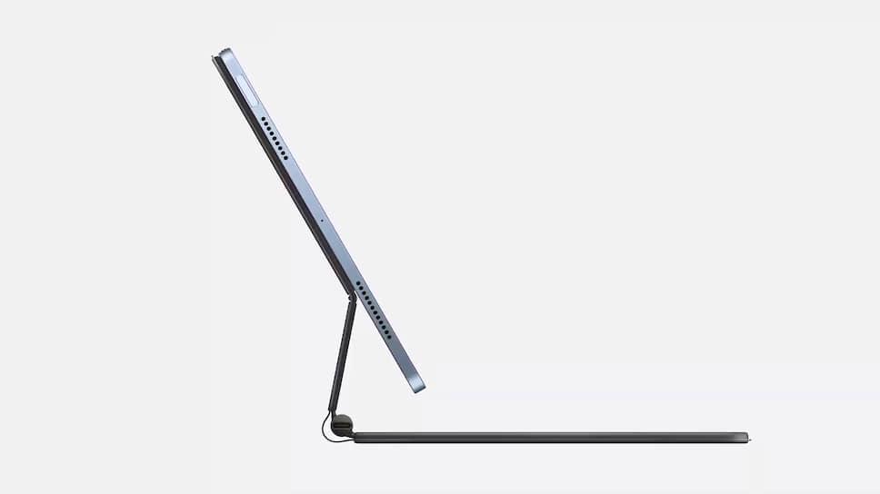 Также планшет поддерживает клавиатуру Apple Keyboard