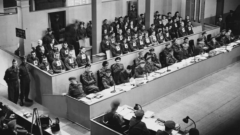 Бельзенский процесс продлился два месяца, завершившись в 17 часов 10 минут 17 ноября 1945 года. До начала суда над главными нацистскими преступниками в Нюрнберге оставалось три дня